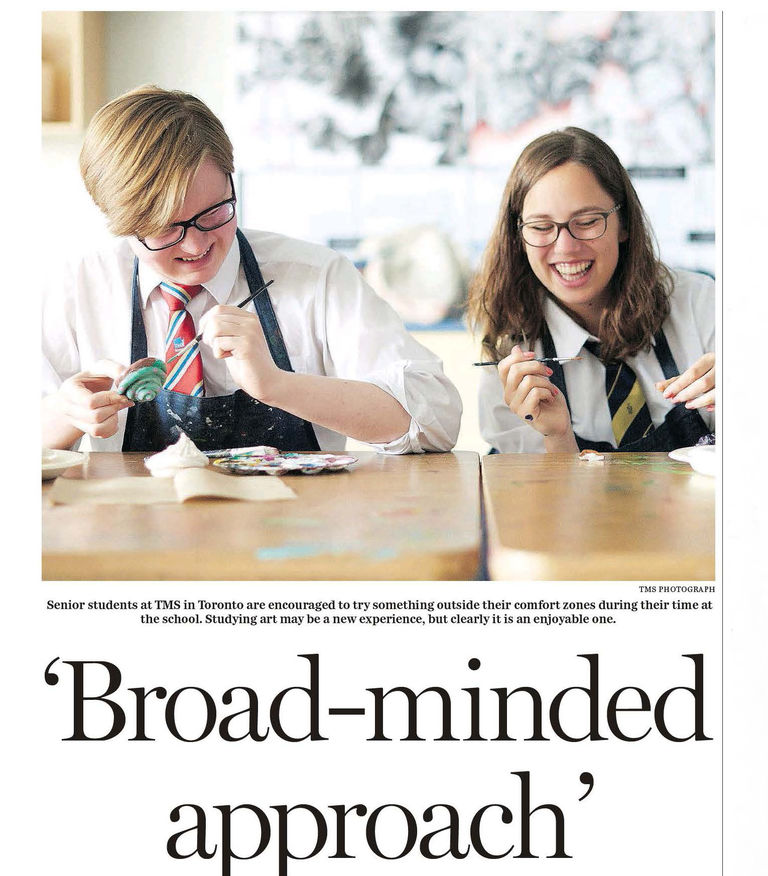 National Post : 'Broad-minded approach' International Baccalaureate Programs