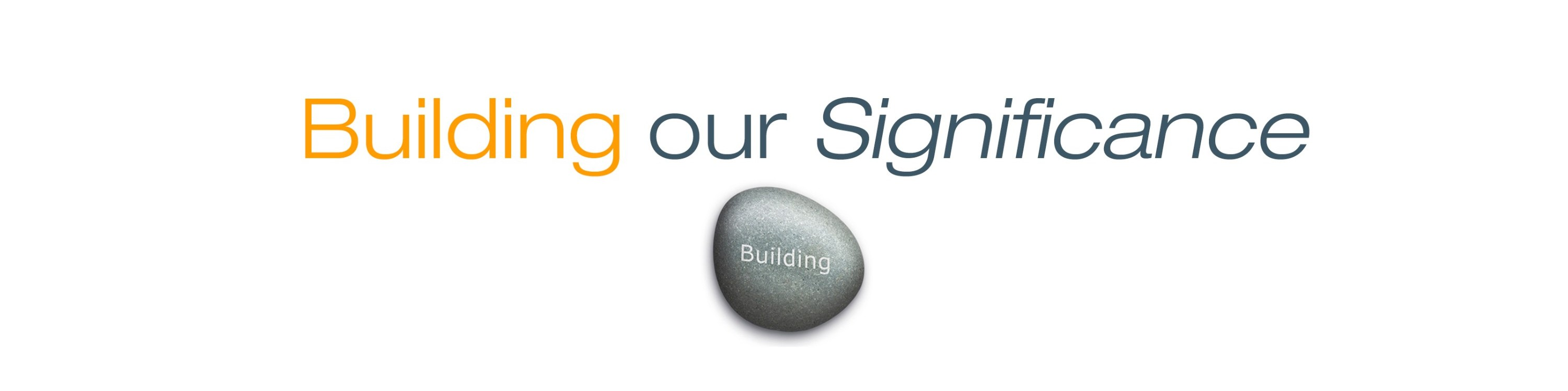 Building our Significance Logo